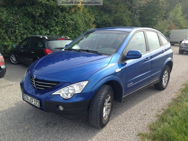 2006 Ssangyong Actyon #6