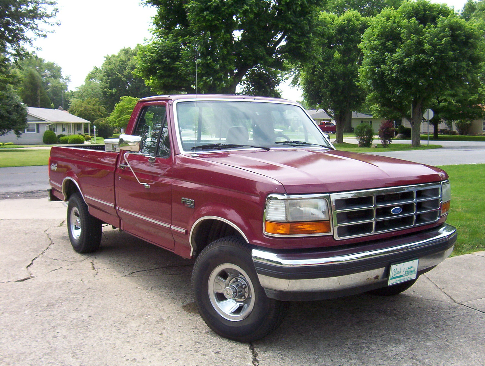 1992 Ford F-150 #5