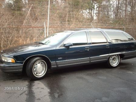 1991 Oldsmobile Custom Cruiser #12