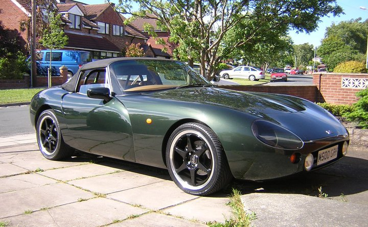 2001 TVR Griffith #13