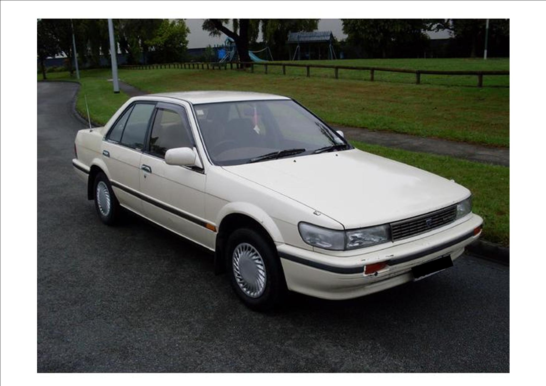 1989 Nissan Bluebird Photos Informations Articles