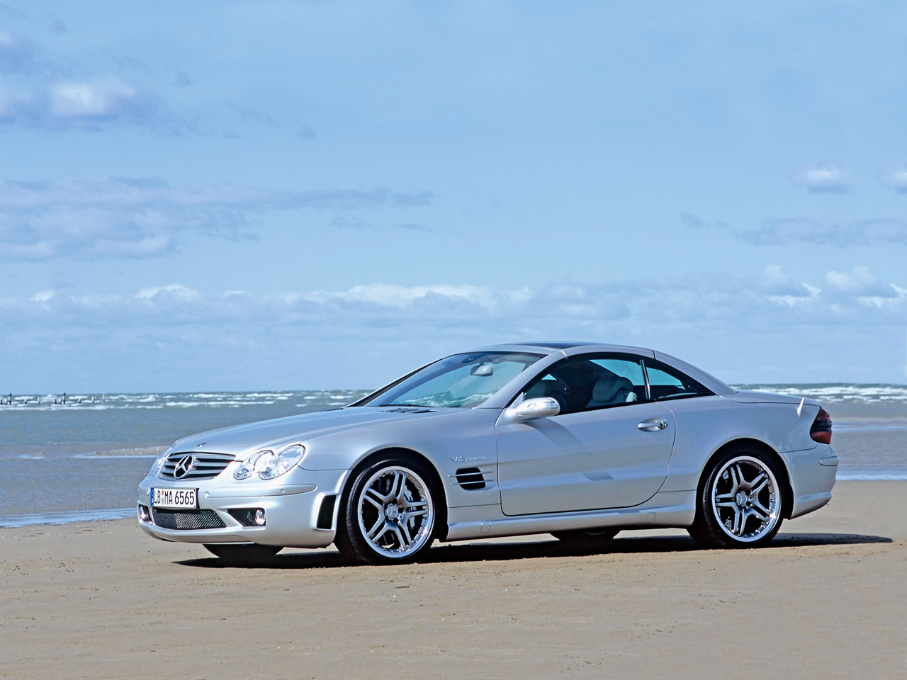2004 Mercedes-Benz SL #4