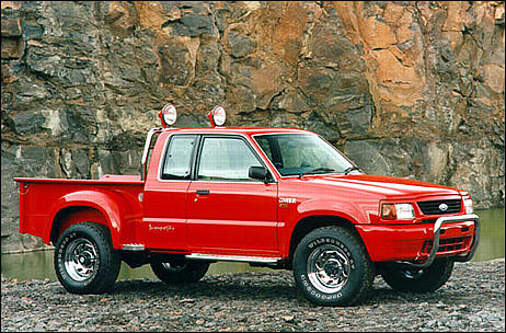 1998 Ford Courier #5
