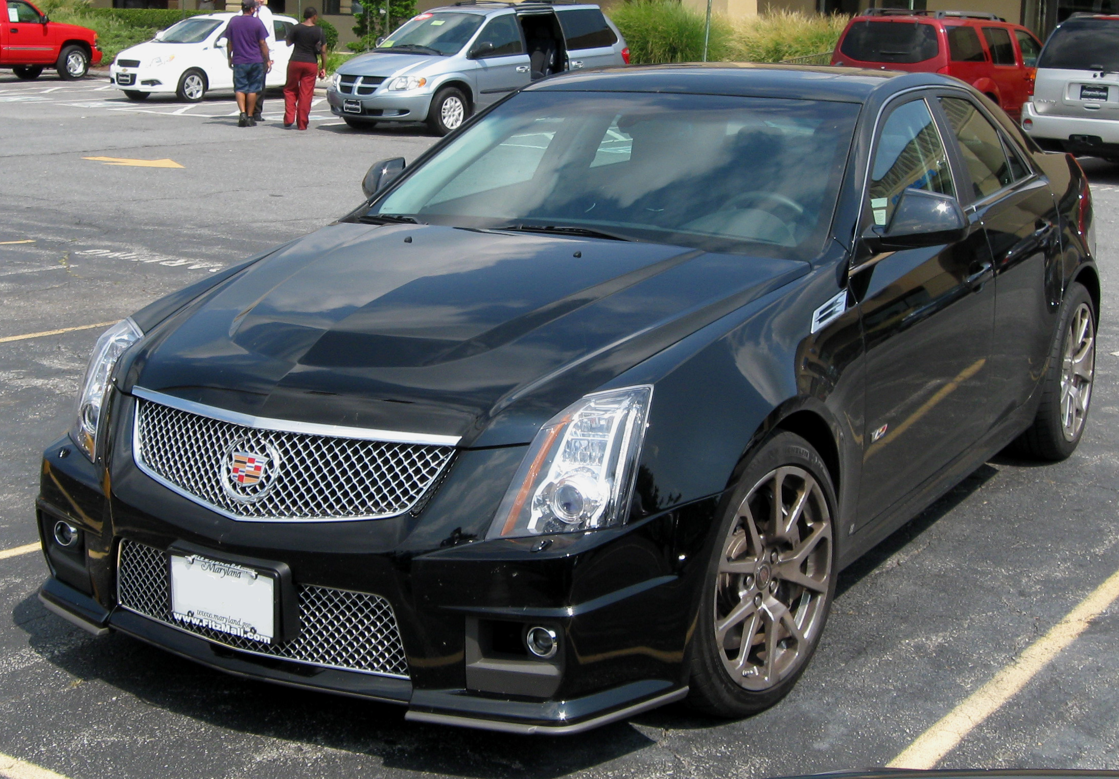 Image result for 2006-2007 Cadillac CTS-V