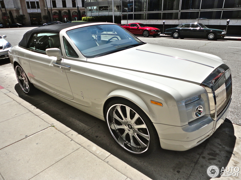 2011 Rolls royce Phantom Drophead Coupe #5