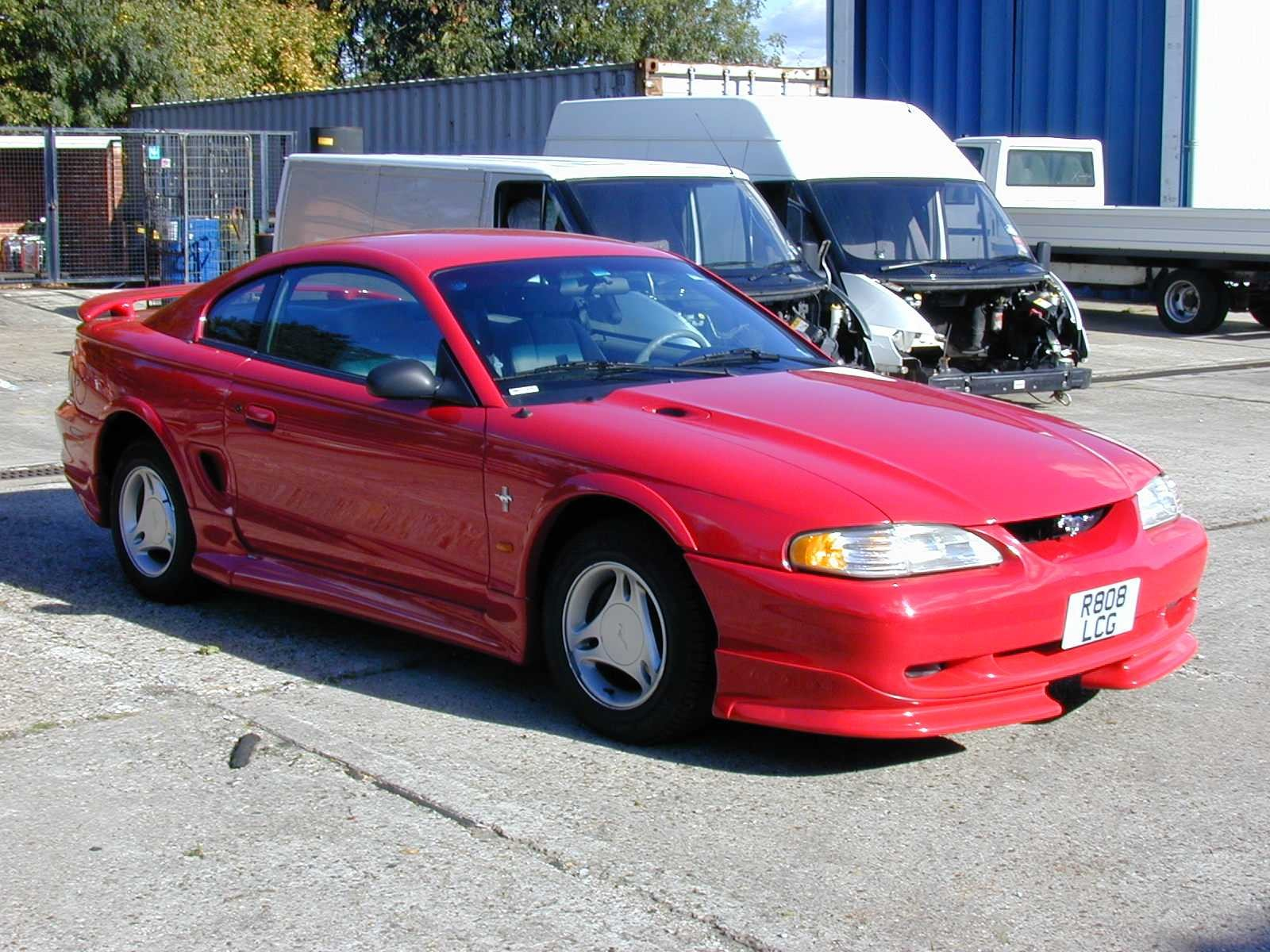 1997 Ford Mustang #1