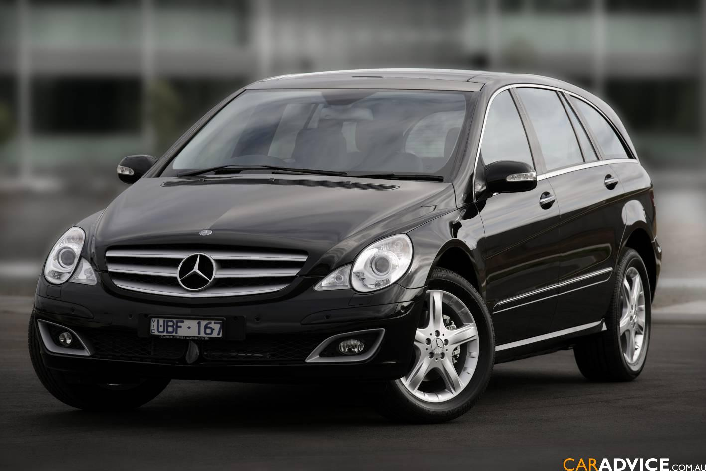 2008 mercedes benz r class photos informations articles. Black Bedroom Furniture Sets. Home Design Ideas