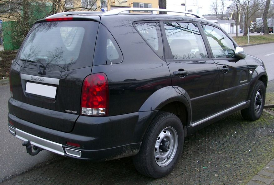 2011 Ssangyong Musso #6