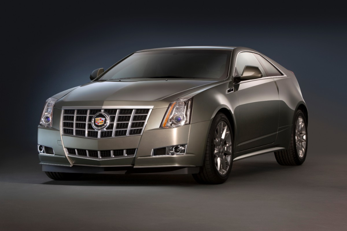 2014 Cadillac Cts Coupe #2