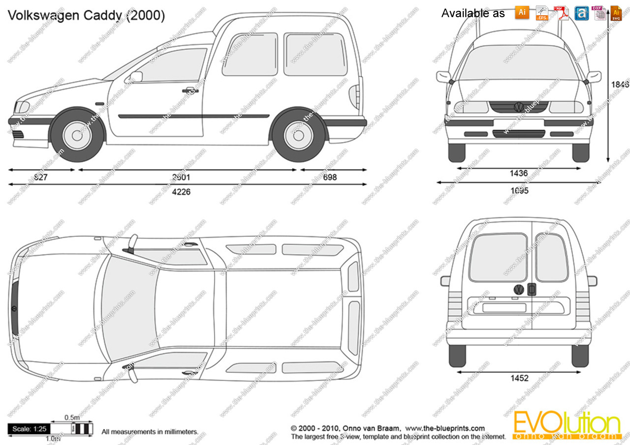 2000 Volkswagen Caddy #7