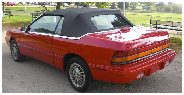 1990 Chrysler Le Baron #11