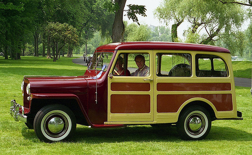 1948 Jeep Station Wagon #7