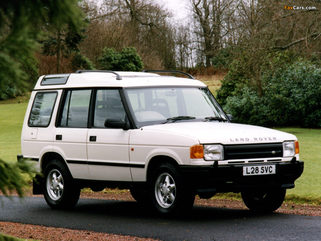 1994 Land Rover Discovery #6
