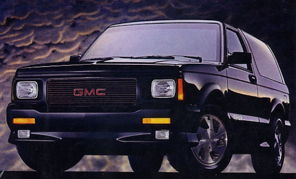 1992 GMC Typhoon #6