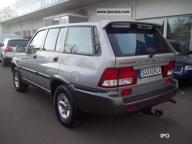2002 Ssangyong Musso #6
