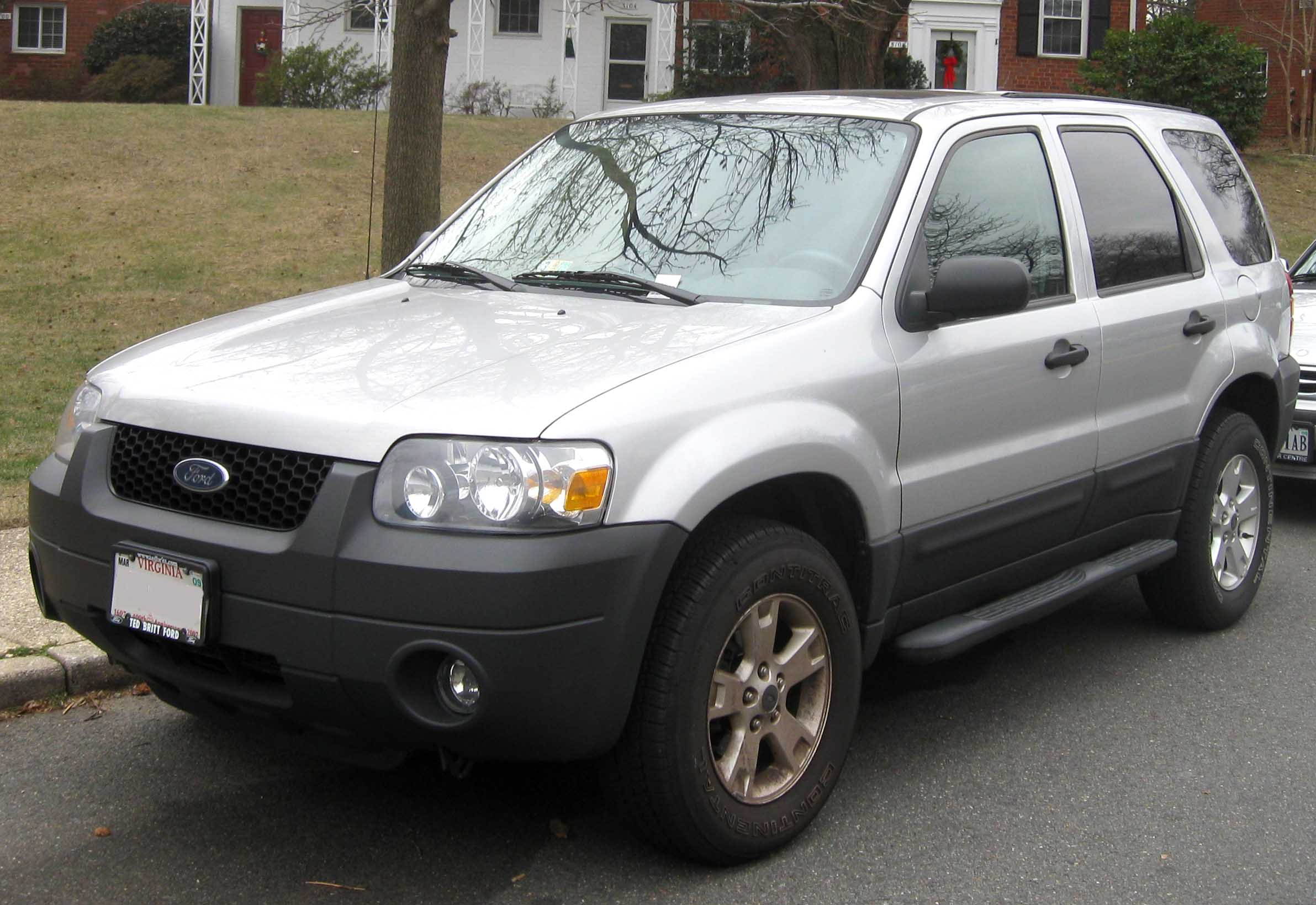 2007 Ford Escape 4