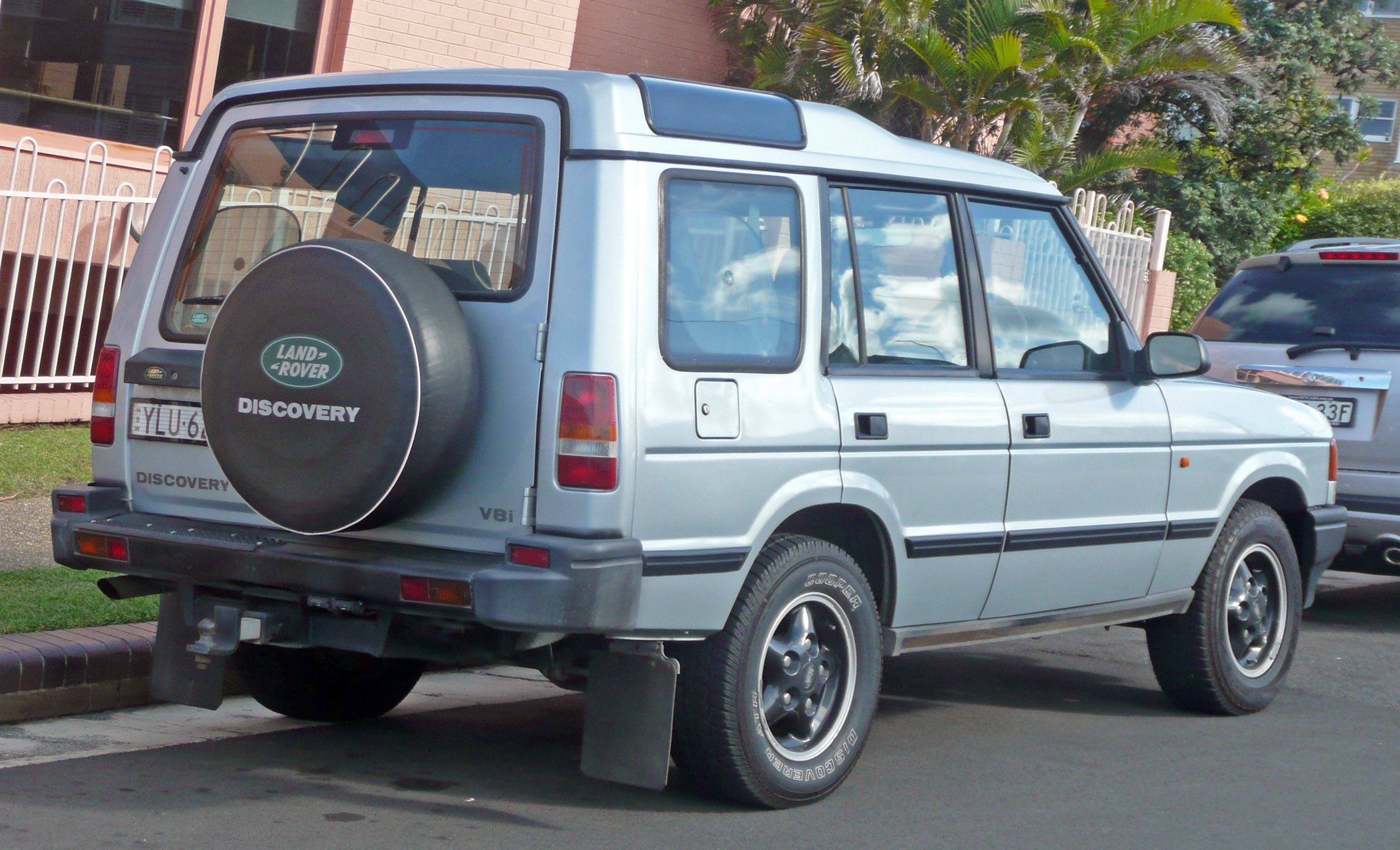 1995 Land Rover Discovery #8