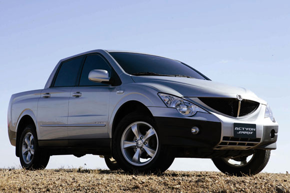 2010 Ssangyong Actyon #4