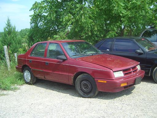 1993 Dodge Shadow #8