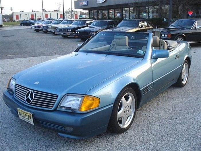 1991 Mercedes-Benz SL #8