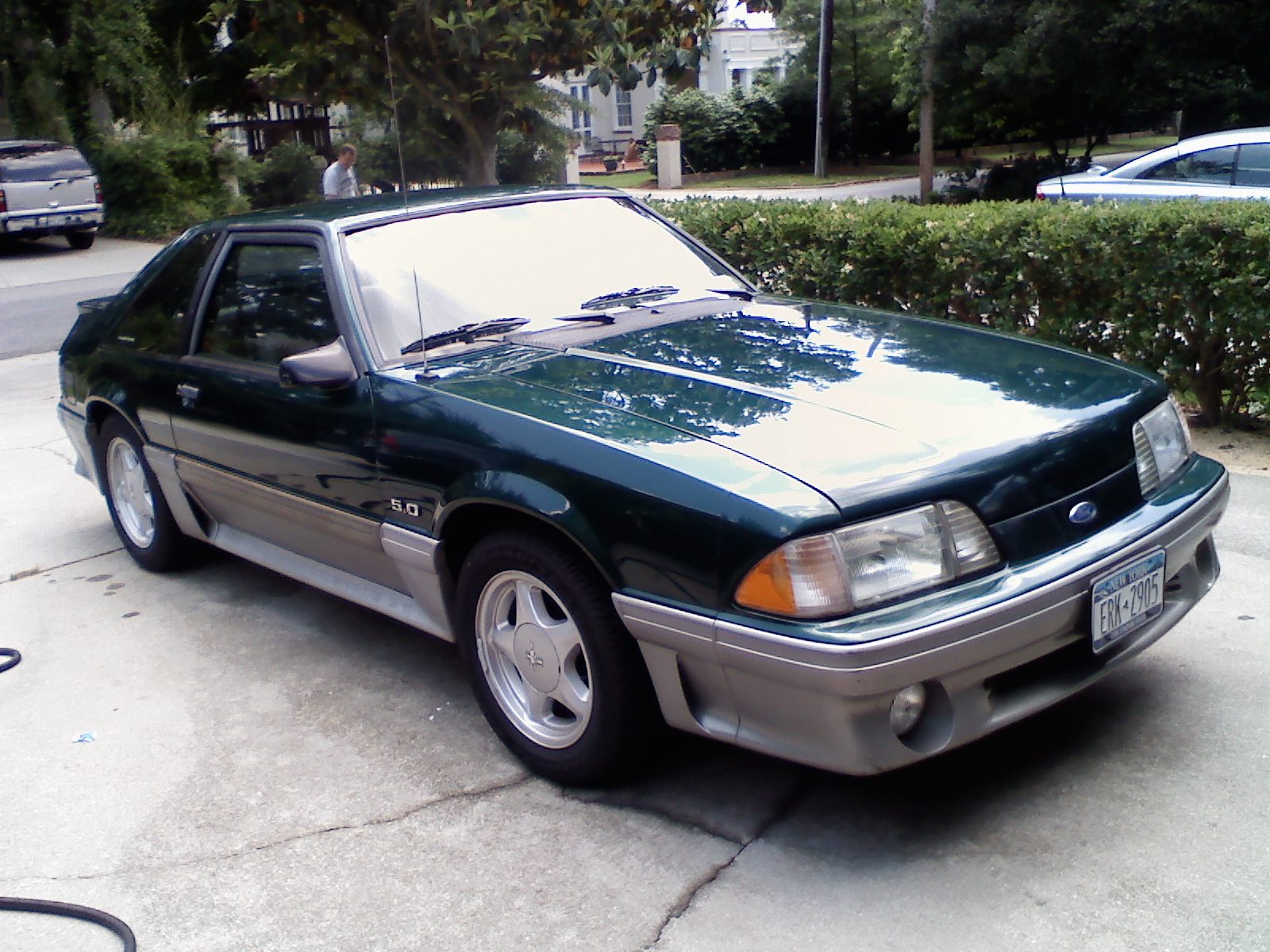 1991 ford mustang 1