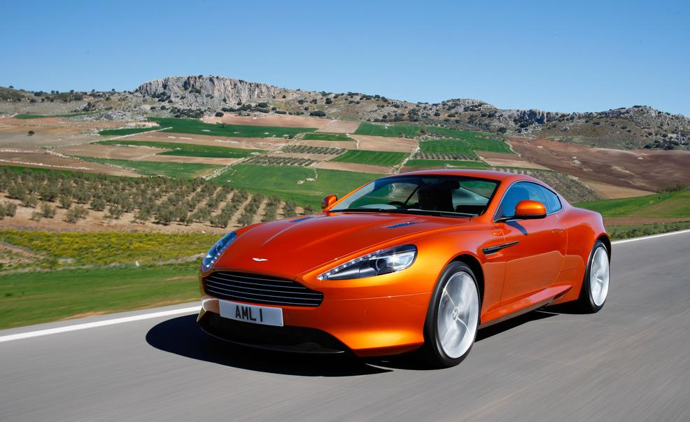 Aston Martin Virage #8
