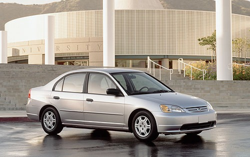 2001 Honda Civic #4