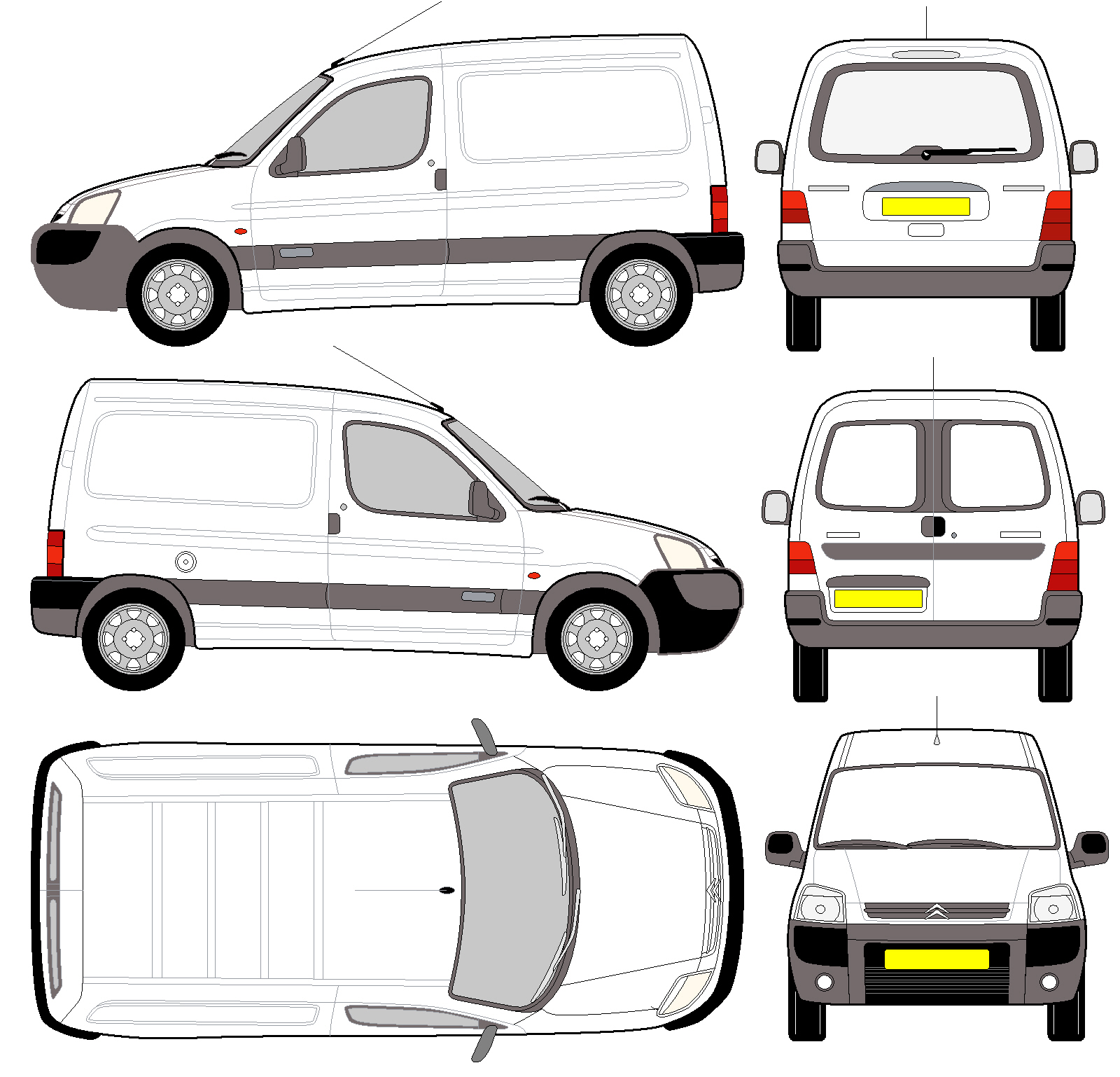 2004 Citroen Berlingo #10