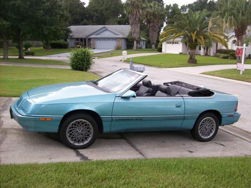 1992 Chrysler Le Baron #5