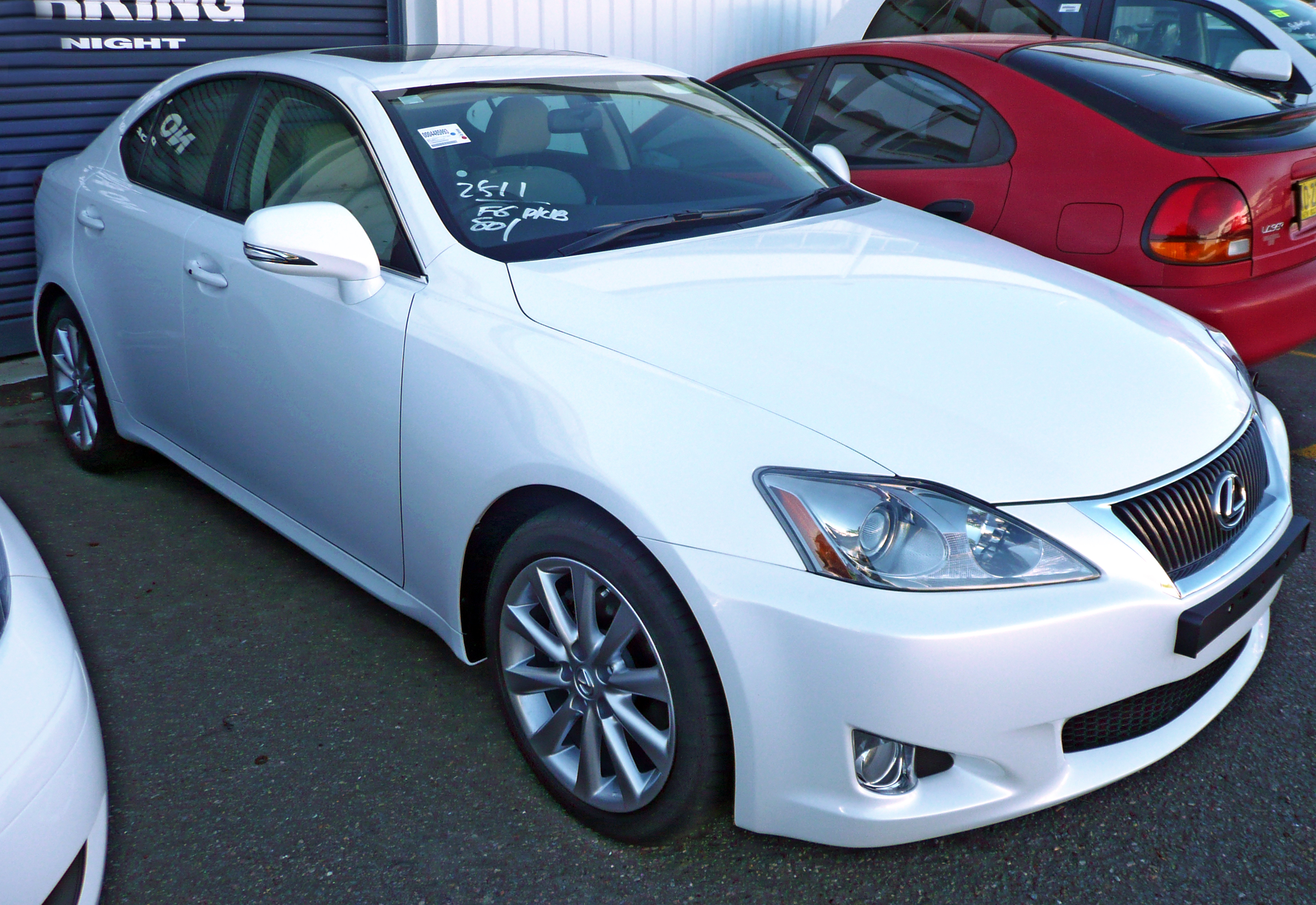 2009 Lexus Is 250 #8