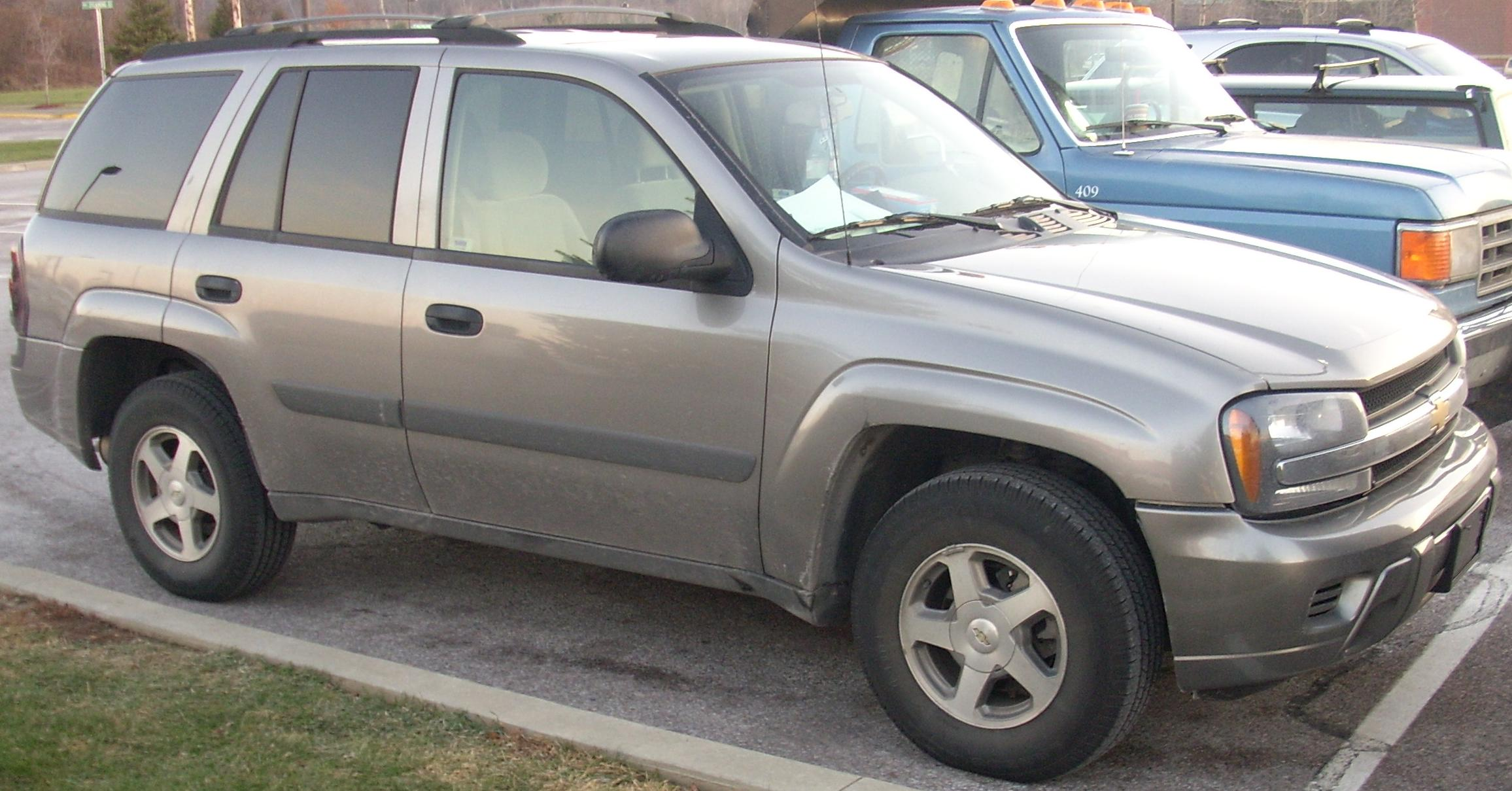 2005 Chevrolet Trailblazer #16