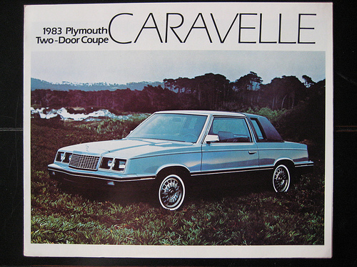 1984 Plymouth Caravelle #9