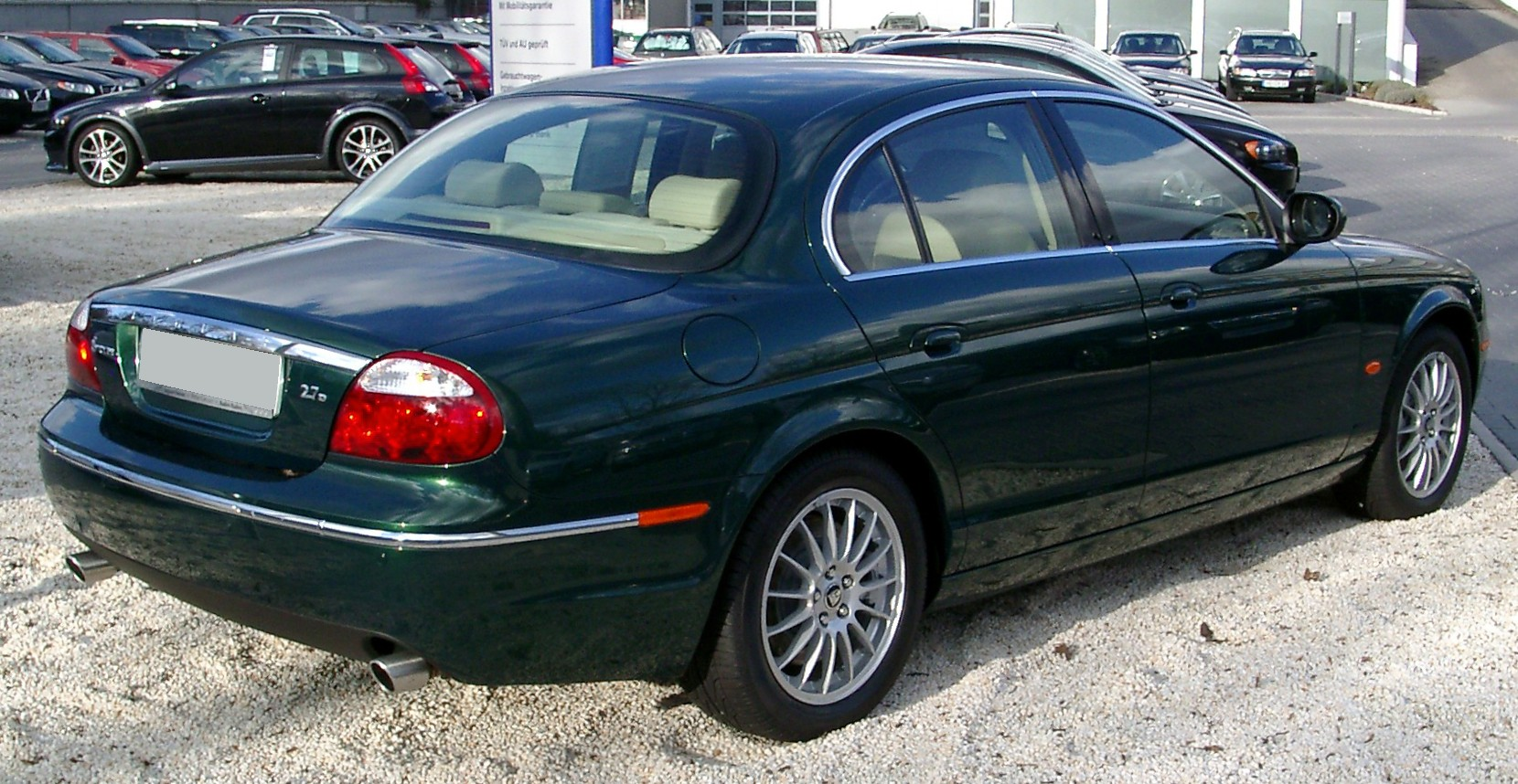 2008 Jaguar S-type #5