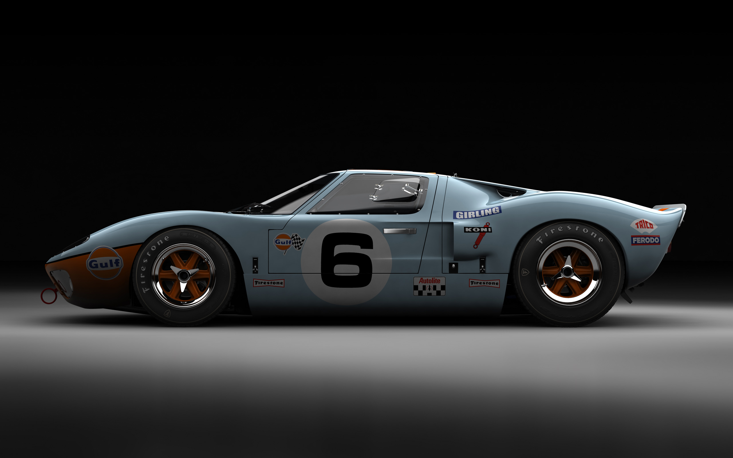 1969 Ford GT 40 #7
