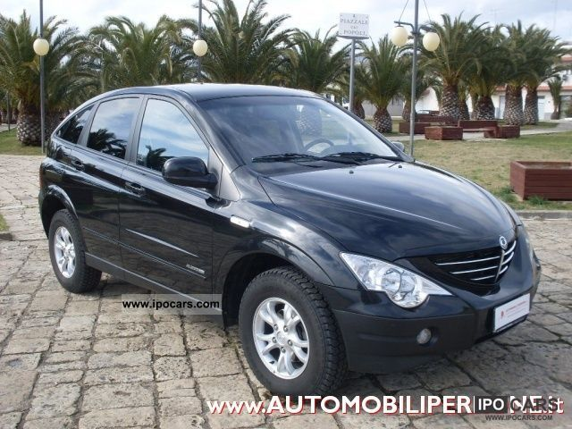 2008 Ssangyong Actyon #13