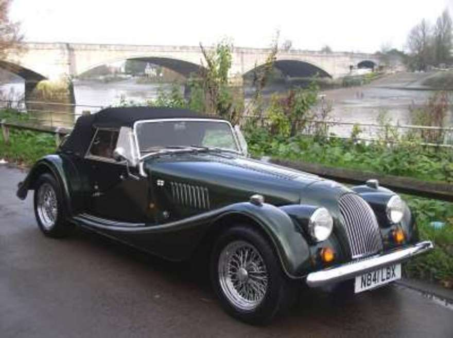 1956 Morgan Plus 4 #8