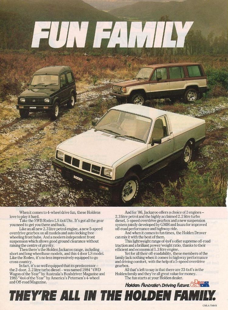 1985 Holden Drover #4