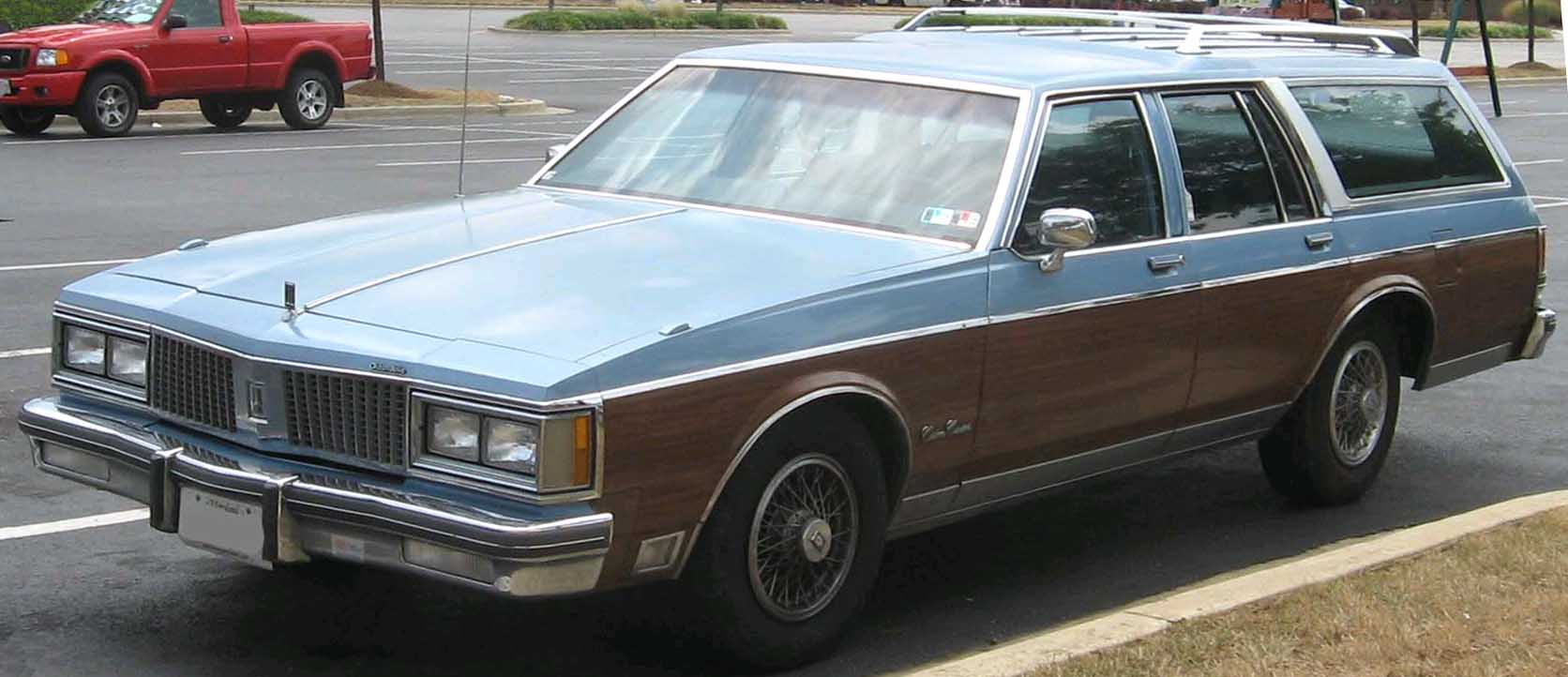 1990 Oldsmobile Custom Cruiser #7
