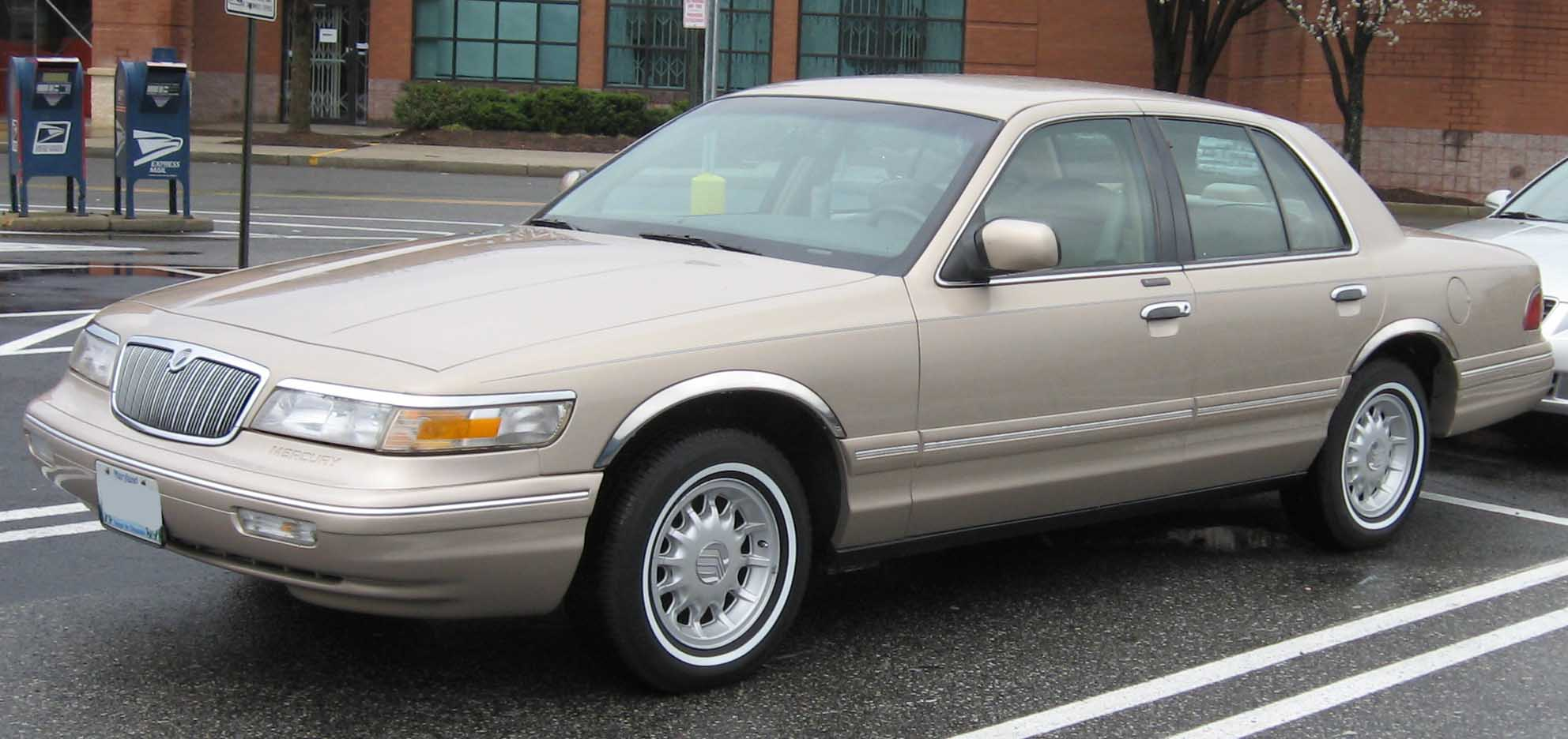 1998 Mercury Grand Marquis #8