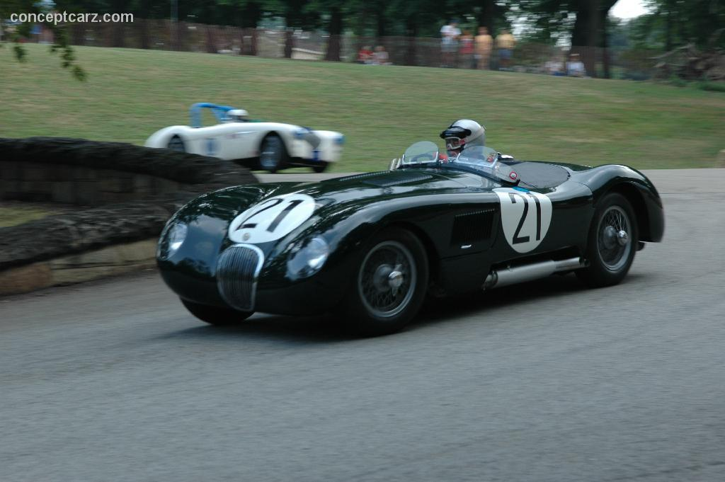 1953 Jaguar C-Type #4