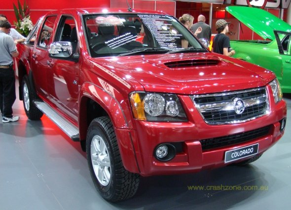 2011 Holden Colorado Photos Informations Articles