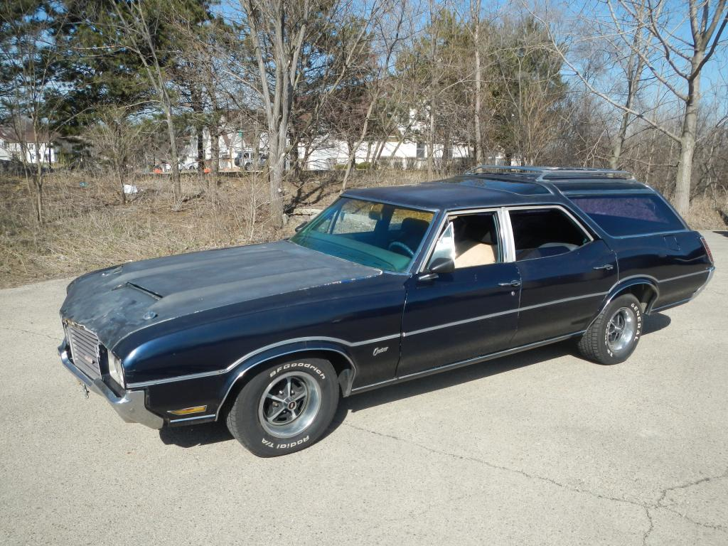 1971 Oldsmobile Vista Cruiser #7