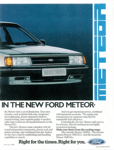 1986 Ford Meteor #9