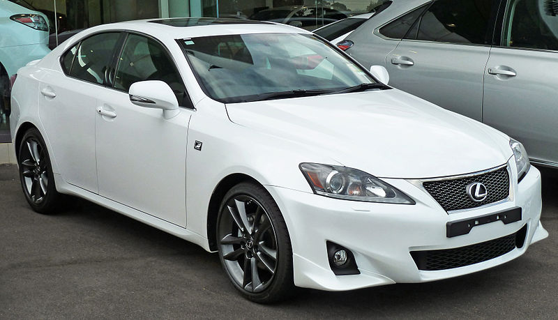 2012 Lexus IS #3