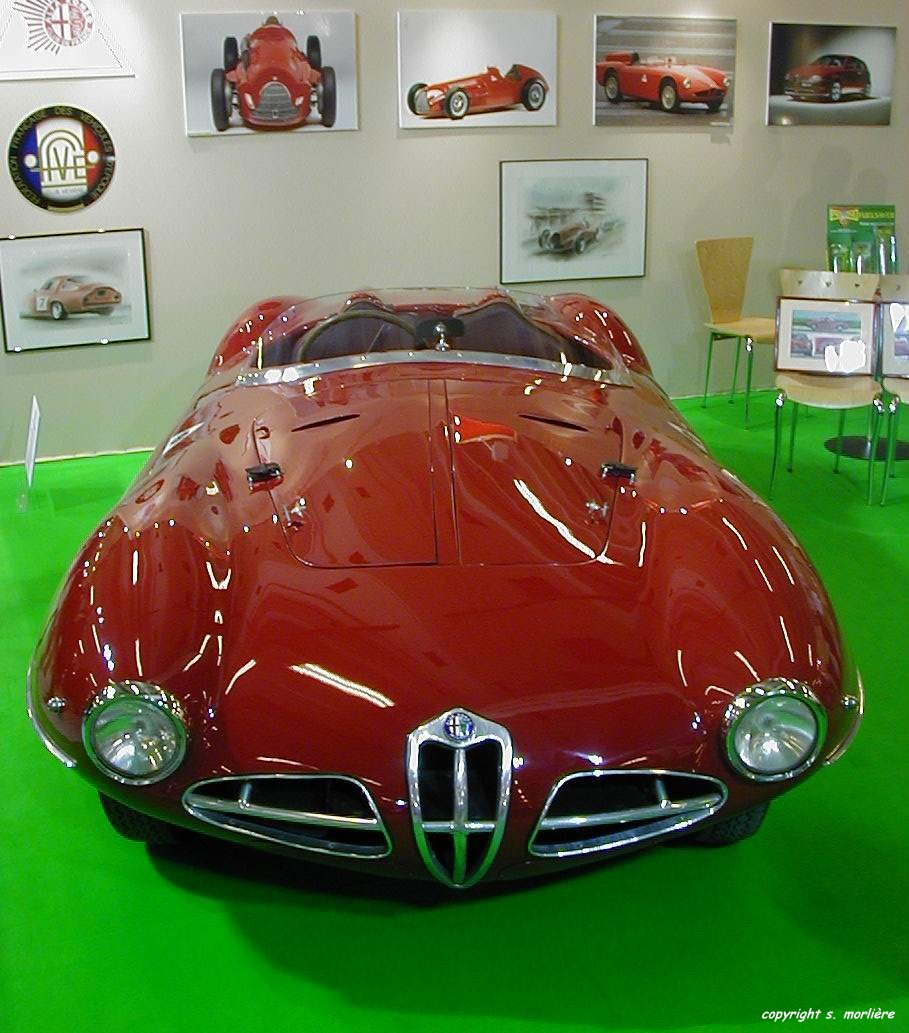 1952 Alfa Romeo Disco Volante Photos, Informations