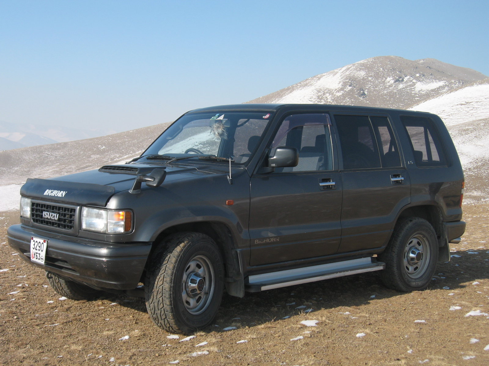 1995 Isuzu Trooper #5