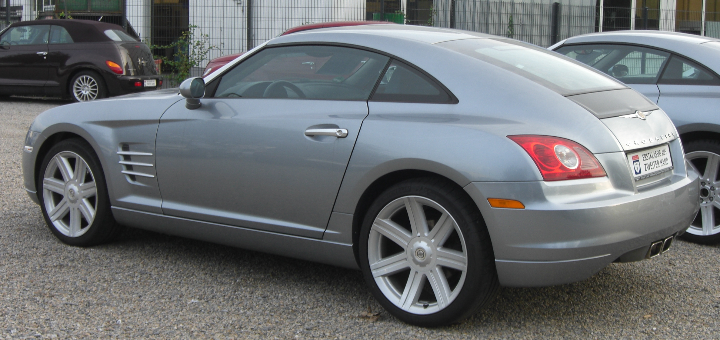 2008 Chrysler Crossfire #11