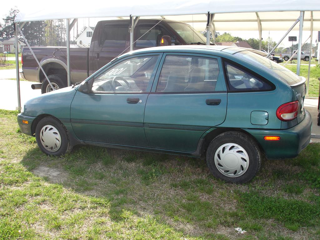 1994 Ford Aspire #9