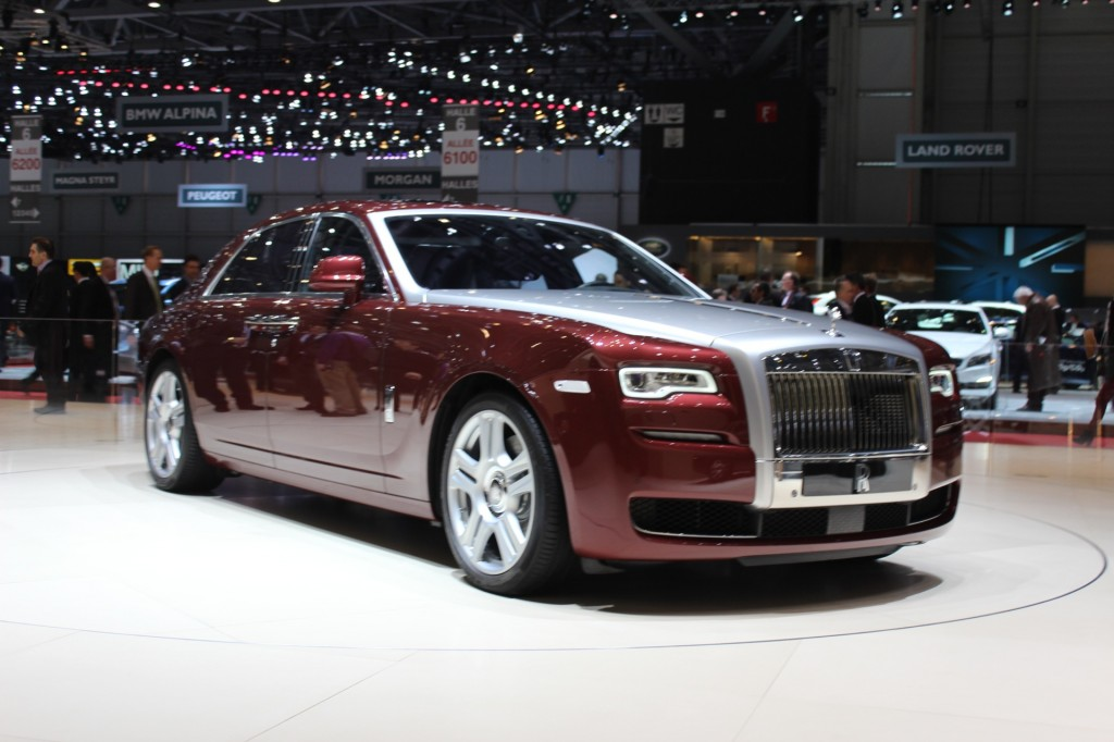 2015 Rolls Royce Ghost Series Ii #7