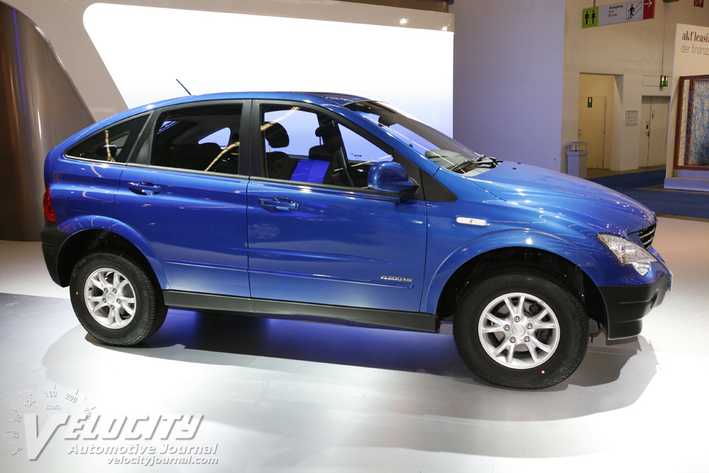 2008 Ssangyong Actyon #8